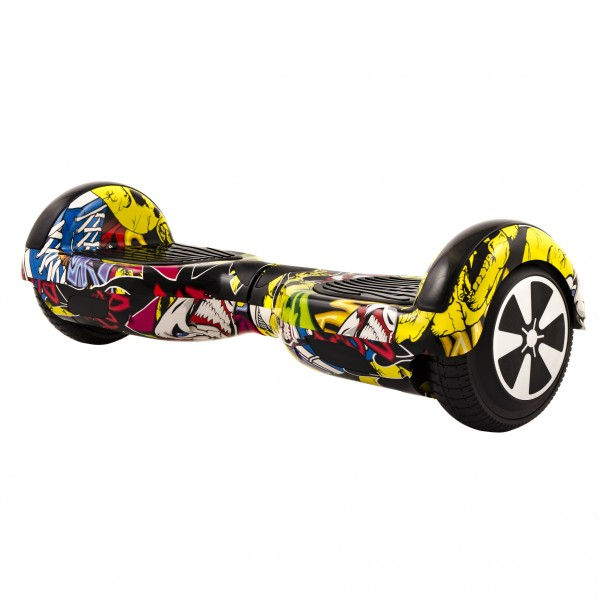"Hoverboard City 6.5"" XH-6 Graffiti (8)"