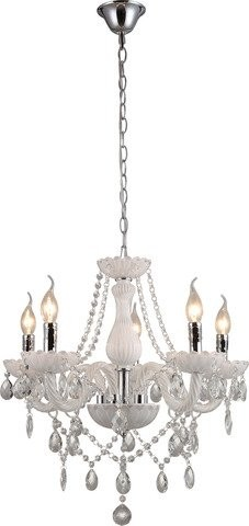 Lustr INL-1149P-05 White & Chrome (1)