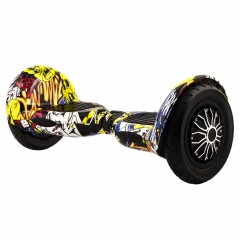 "Hoverboard City 10"" XH-10 Graffiti (8)"