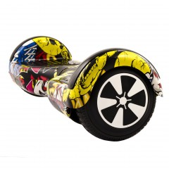 "Hoverboard City 6.5"" XH-6 Graffiti (7)"